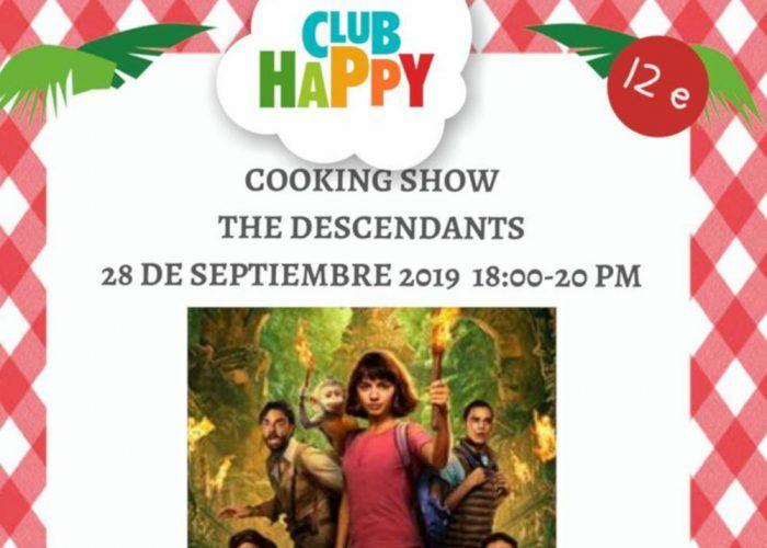 Taller de cocina para niños sobre la película de Dora en Málaga