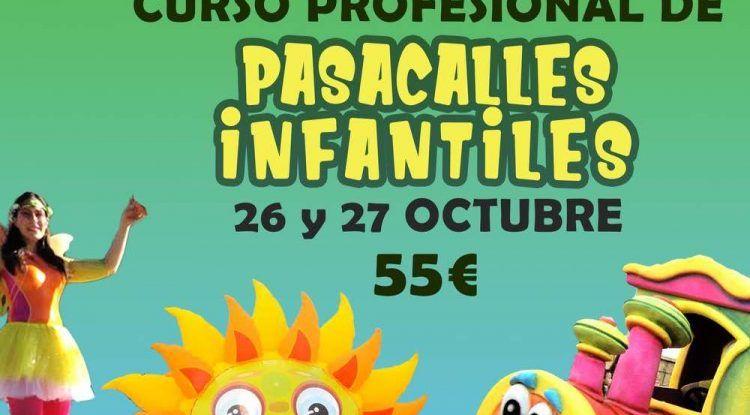 Curso profesional de pasacalles infantiles con Timbleque