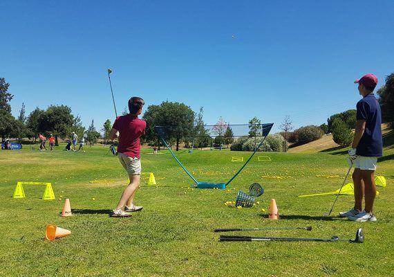 Escuela infantil de golf en Málaga durante el curso 2019/2020