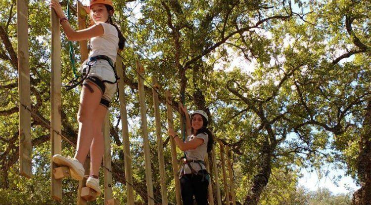 Excursiones y viajes escolares con aventuras en Molino de Madaura (Archidona)