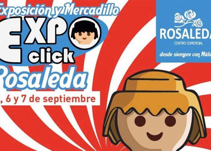 Los clicks de Playmobil llegan al Centro Comercial La Rosaleda del 5 al 7 de septiembre.