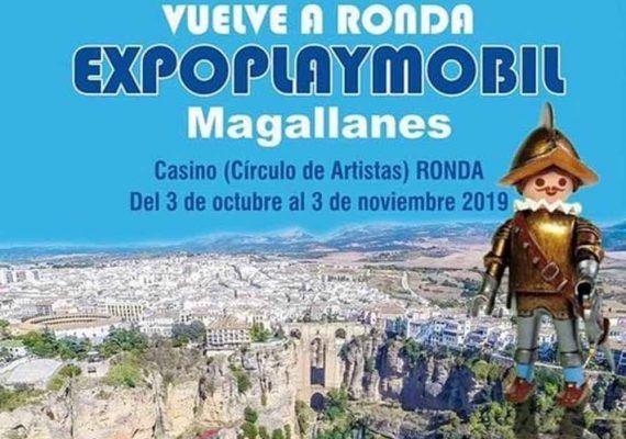 Exposición de Clicks de Playmobil en Ronda sobre la vuelta al mundo de Magallanes