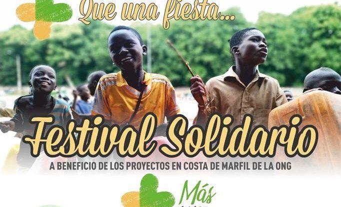Actividades infantiles en el festival solidario el sábado 28 de septiembre