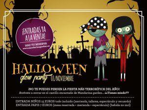 Celebra Halloween en familia con talleres y espectáculos en Mandarina Garden Málaga