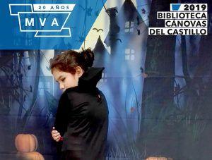 Taller de Halloween y cuentacuentos de miedo para niños en la Biblioteca Cánovas (Málaga)