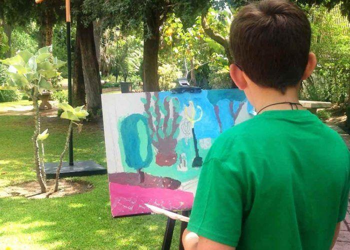 'Laboratorio de arte' para niños en La Térmica (Málaga)