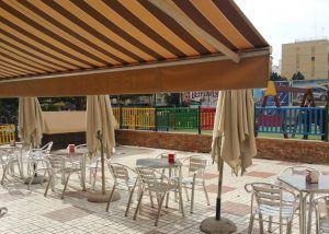 Bares en Málaga con terraza junto a parques infantiles