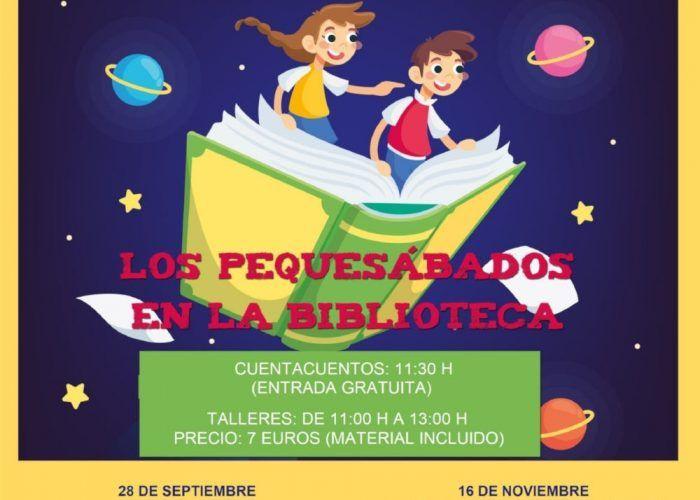 Cuentacuentos y talleres para niños en la biblioteca de Antequera