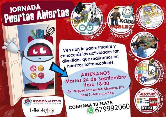 Jornada de puertas abiertas para conocer las extraescolares de Artenanos Torremolinos