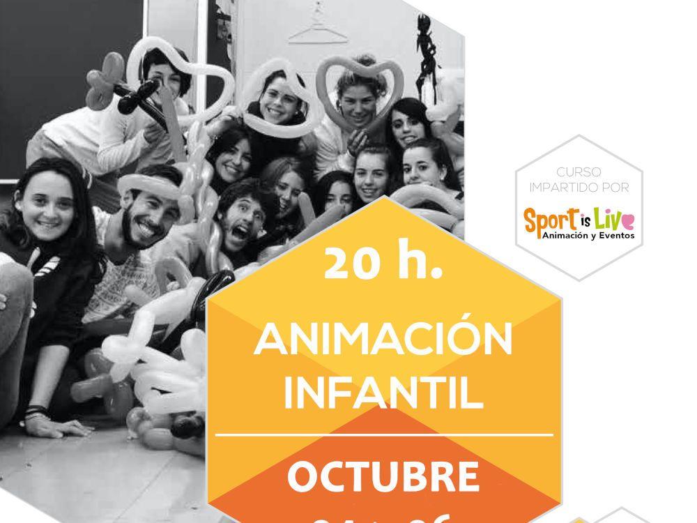 Curso De Animación Infantil En Málaga Con Sportislive