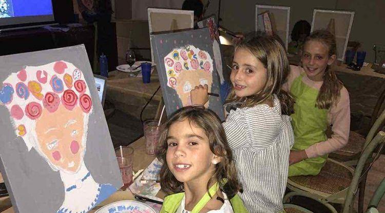 Taller de pintura para niños en La Térmica (Málaga)