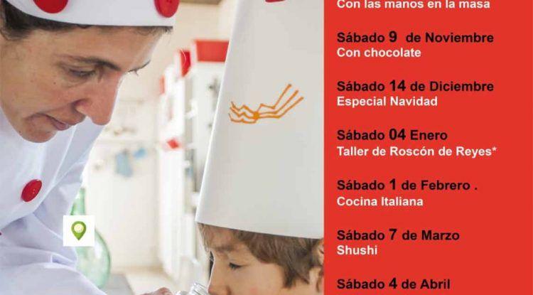 Talleres de cocina para niños y en familia con Cooking Málaga
