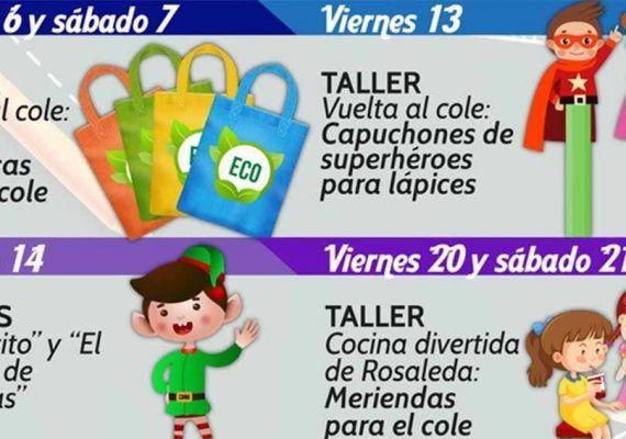 Actividades y títeres gratis para niños en septiembre en el CC Rosaleda