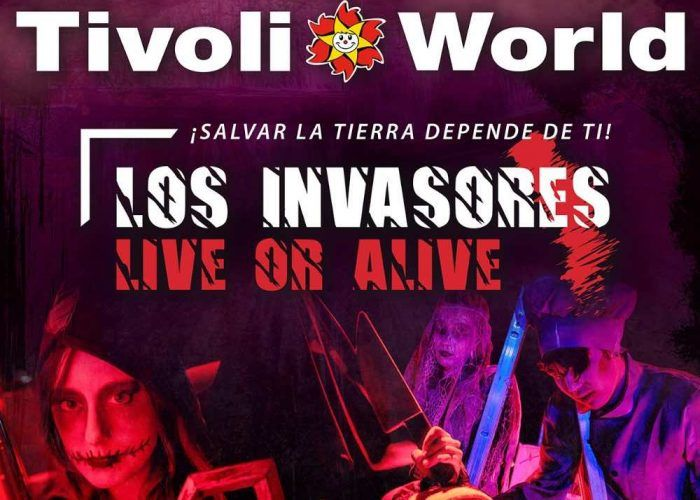 'Los invasores' llegan a Tivoli World para celebrar Halloween el sábado 2 de noviembre