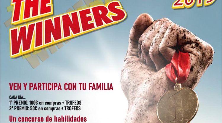 Compite en familia en el concurso de habilidades 'The Winners' del CC Rincón de la Victoria
