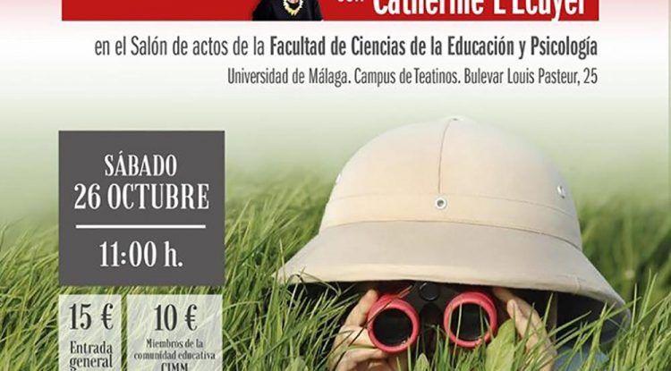 Conferencia 'Educar en el Asombro' con el centro Montessori en la Universidad de Málaga