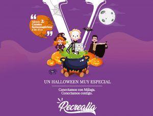 Cuentacuentos y talleres gratis de Halloween en el espacio infantil de Vialia Málaga