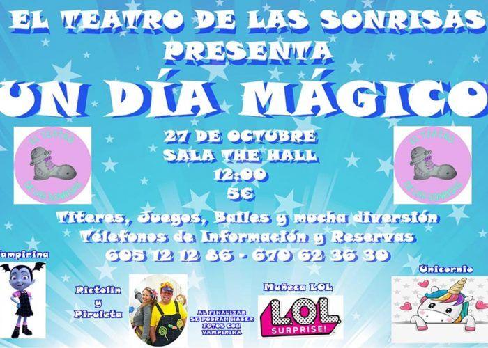 Espectáculo infantil con títeres y juegos en la sala The Hall de Málaga