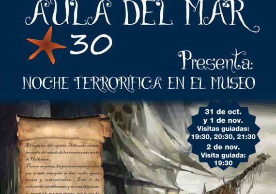 Gymkana de Halloween para toda la familia en el Aula del Mar de Málaga