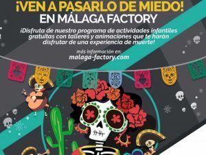 Llega Halloween a Málaga Factory en el Parque Comercial Málaga Nostrum