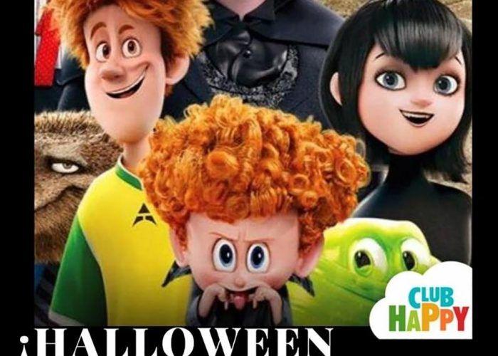 Halloween para niños en Club Happy Málaga con temática de Hotel Transylvania