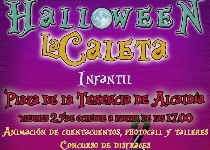 Halloween para niños con cuentacuentos y talleres gratis en La Caleta de Vélez
