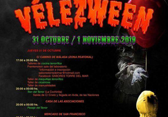 Halloween 2019 en Vélez-Málaga: actividades terroríficas para toda la familia