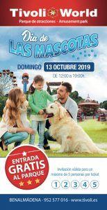 Entrada gratis a Tivoli World el domingo 13 de octubre en el Día de las Mascotas
