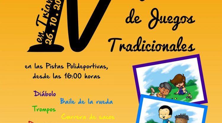 Jornada familiar de juegos tradicionales en Triana (Vélez-Málaga)