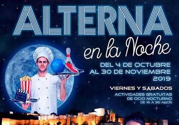 Planes gratis para jóvenes los fines de semana de octubre con Alterna la noche Málaga