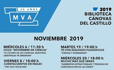 Actividades gratis para niños este noviembre en la Biblioteca Cánovas del Castillo de Málaga