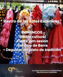 Rastro de las Artes Escénicas, que se celebra en la Escuela de Música y Danza David Martín