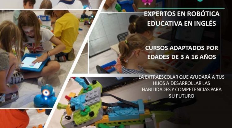 Edukative: Robótica educativa en inglés para niños en Málaga