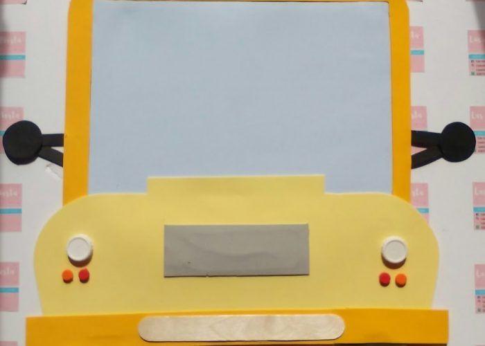 Saturna manualidades: creamos un bus-pizarra
