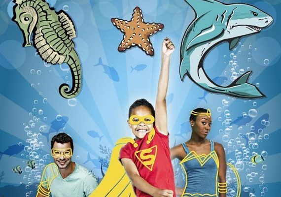 Conviértete en un superhéroe marino en Sea Life Benalmádena