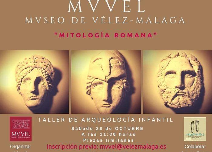 Taller de arqueología infantil el sábado 26 de octubre en Vélez Málaga con ArqueoRutas