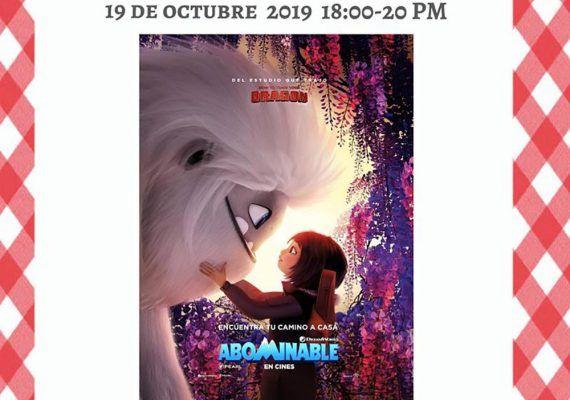 Taller de cocina para niños sobre la película 'Abominable' en Club Happy Málaga