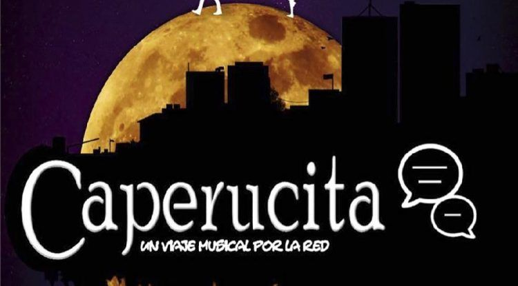 Teatro 'Caperucita, un viaje musical por la red' para toda la familia en Málaga