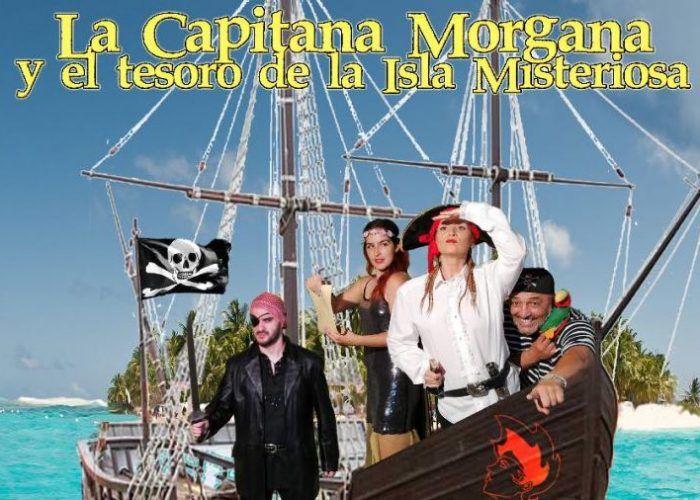 Teatro 'La capitana Morgana y el tesoro de la Isla Misteriosa' para toda la familia en Cártama (Málaga)