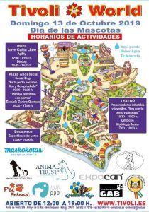 Programación de actividades en el Día de las Mascotas en Tivoli World