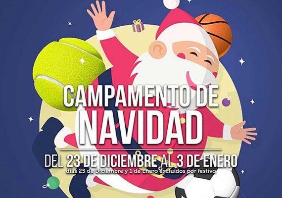 Campamento de Navidad 2019 para niños y jóvenes en Vals Sport Málaga