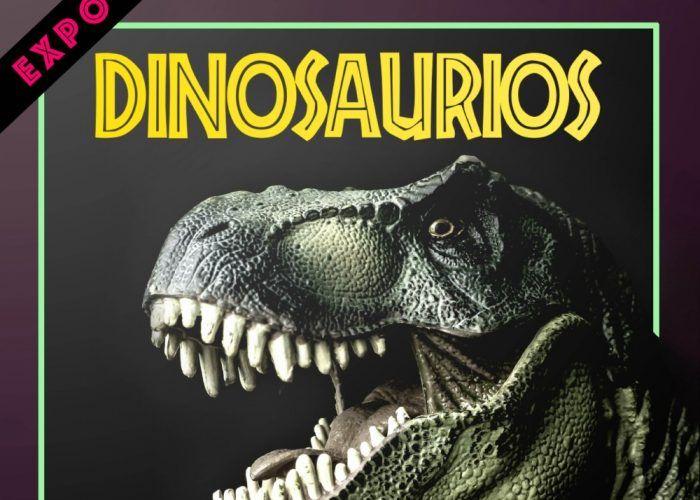 Exposición de dinosaurios en la Plaza de Toros de Antequera (Málaga)