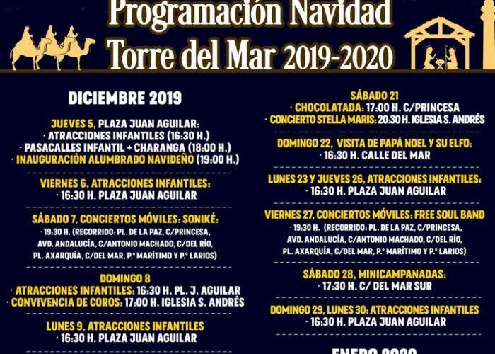 Actividades gratis de Navidad para toda la familia en Torre del Mar (Málaga)