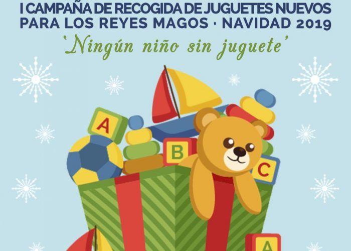 Campaña solidaria de recogida de juguetes en Vélez-Málaga
