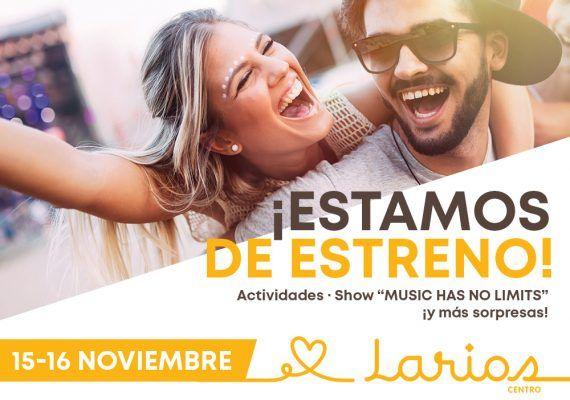 Actividades gratis para toda la familia en la reinauguración de Larios Centro Málaga