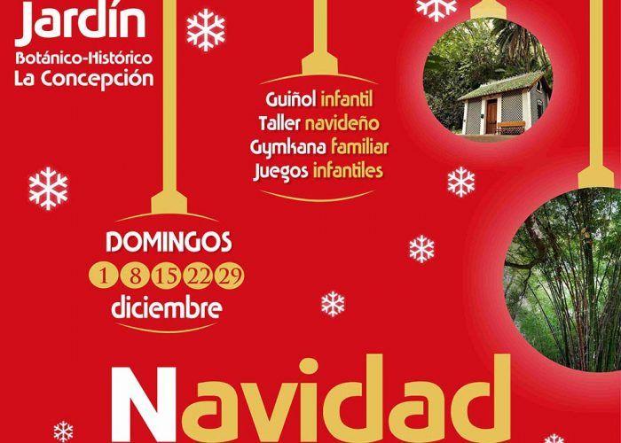 Celebra la Navidad en familia con diferentes actividades en el Jardín Botánico de Málaga