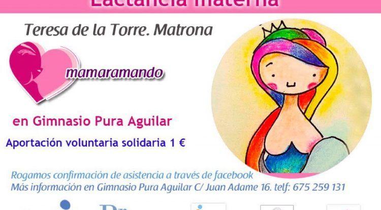 Charla sobre lactancia materna en Antequera (Málaga)