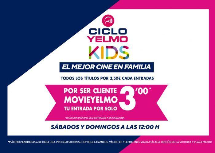 Ciclo Yelmo Kids: películas infantiles desde 3 euros los fines de semana de noviembre y diciembre