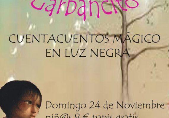 Cuentacuentos 'Garbancito' en la sala Tragasueños (Málaga)