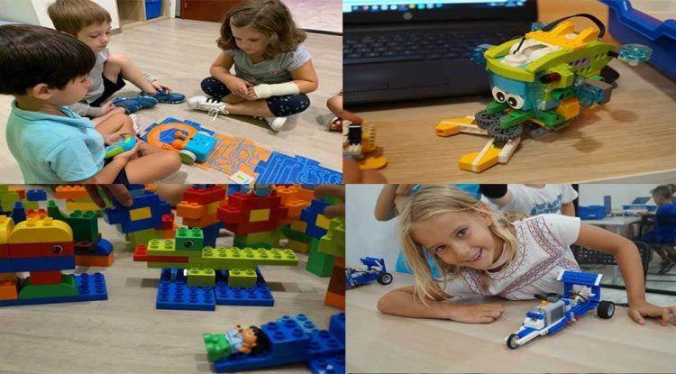 Campamento de Navidad para niños sobre robótica educativa en inglés con Edukative en Málaga